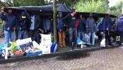 Vluchtelingen Amsterdam