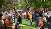 Koningsdag 2014 in Park Rozenburglaan door Jeroen Kransen