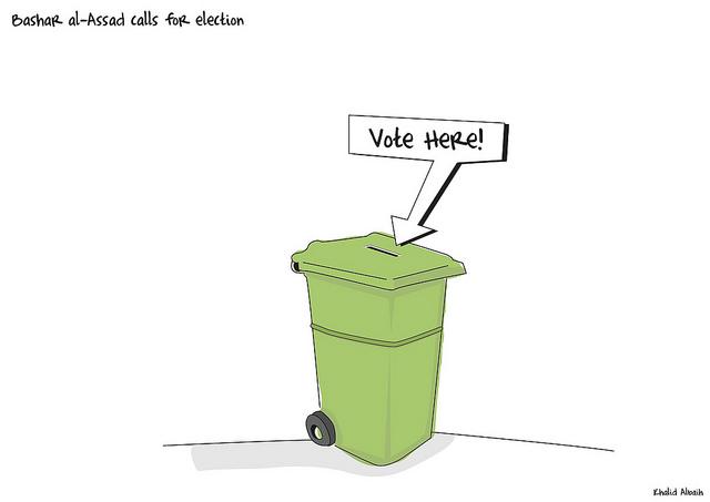Bashar al-Assad calls for election