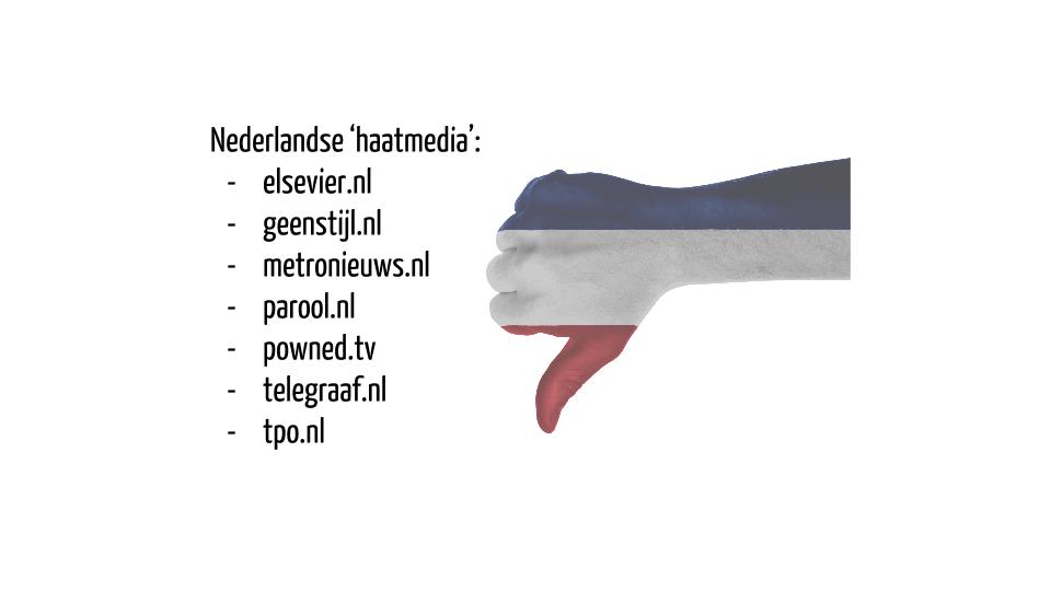 Nederlandse 'haatmedia'