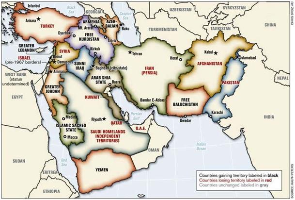 Het nieuwe Midden-Oosten (en daarbuiten) volgens Oded Yinon