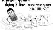 Khader Adnan - getekend door DocJazz